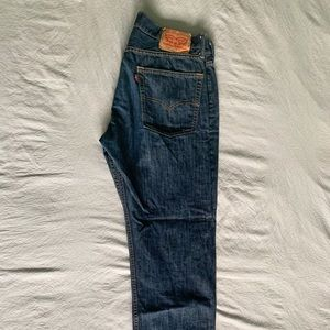 LEVI'S 513 jeans.  Almost new.  36x30